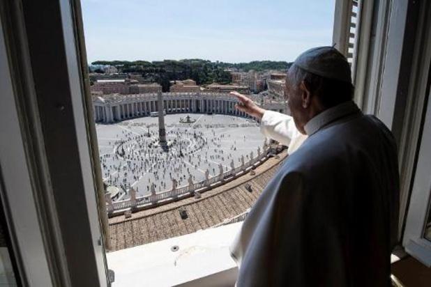 Le pape parlera de nouveau aux fidèles depuis sa fenêtre dimanche