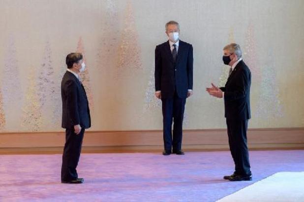 """L'empereur japonais Naruhito déclare qu'organiser les Jeux n'est """"pas une tâche facile"""""""