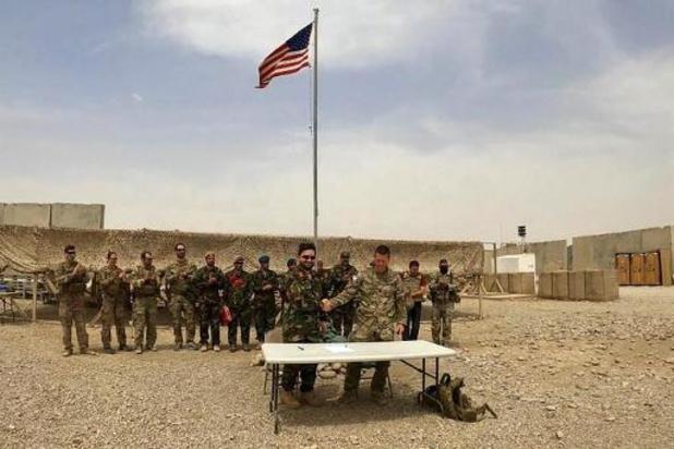 Amerikaanse troepen verlaten een van de grootste basissen in Afghanistan