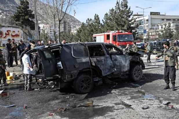 Twee doden bij zware ontploffing in Kaboel