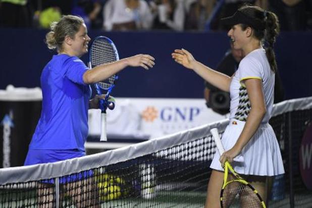 """Konta, die Clijsters uitschakelde: """"Ze slaat haar ballen ongelooflijk goed"""""""