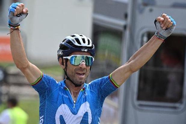 Alejandro Valverde remporte la 6e étape, Alexey Lutsenko prend la tête du général