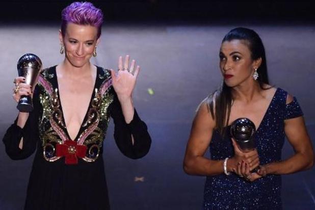 The Best FIFA Football Awards - L'Américaine Megan Rapinoe Joueuse FIFA de l'année, Jill Ellis coach féminin de l'année