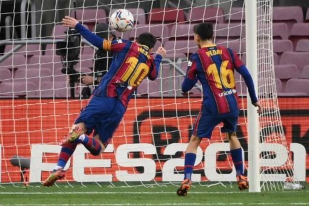 Lionel Messi égale le record de buts en club de Pelé avec son 643e but pour Barcelone