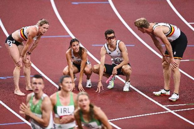 JO 2020 : samedi, le jour des relais mixtes belges ?