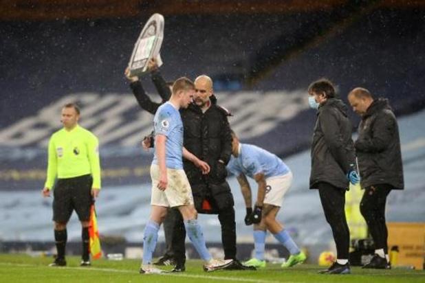 Pep Guardiola apporte de bonnes nouvelles de Kevin De Bruyne