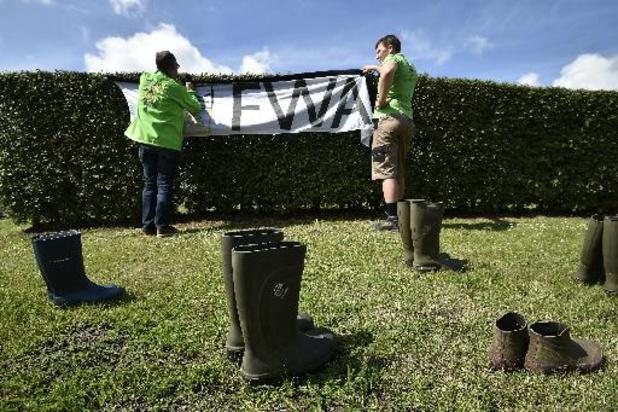La FWA va mener une action de sensibilisation ce vendredi devant le gouvernement wallon
