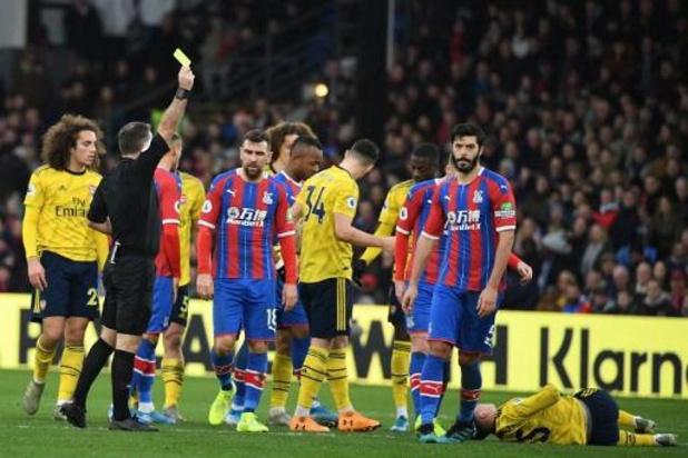 Crystal Palace en Arsenal delen de punten in Londense derby