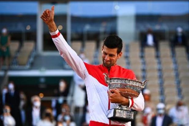 """Roland-Garros - Novak Djokovic après don 19e tournoi du Grand Chelem : """"Dans le Top 3 de tous mes succès"""""""