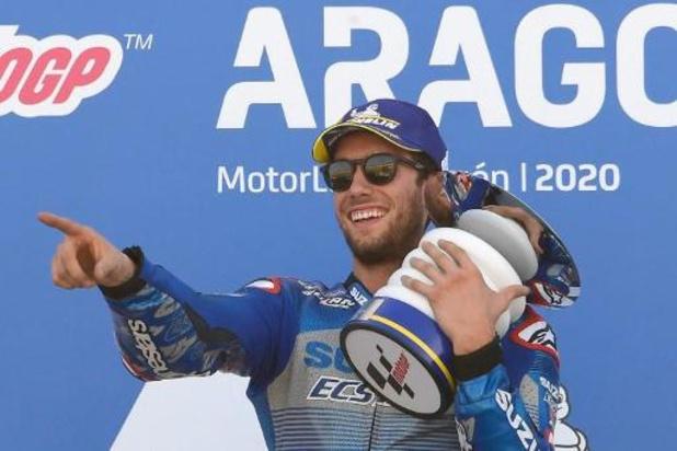 Alex Rins wint MotoGP-race, Joan Mir springt naar kop van klassement