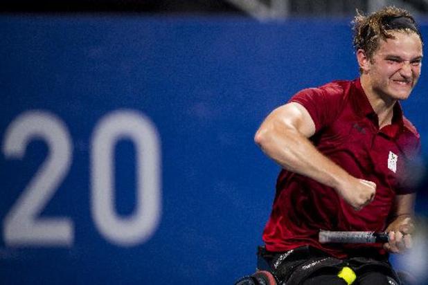 Jef Vandorpe se qualifie pour les huitièmes de finale du tournoi de tennis en fauteuil roulant