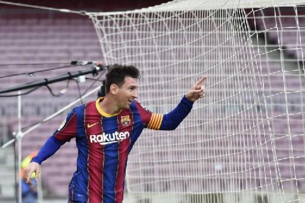 Messi weg bij Barcelona - Barcelona neemt met berichten op sociale media afscheid van Messi