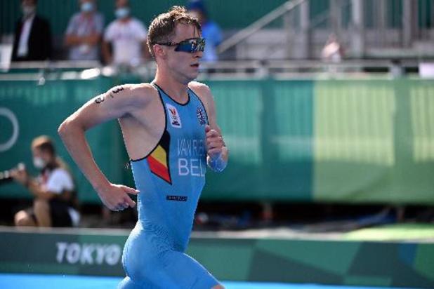 World Triathlon Series - Kristian Blummenfelt champion du monde après son titre olympique devant Marten Van Riel 2e