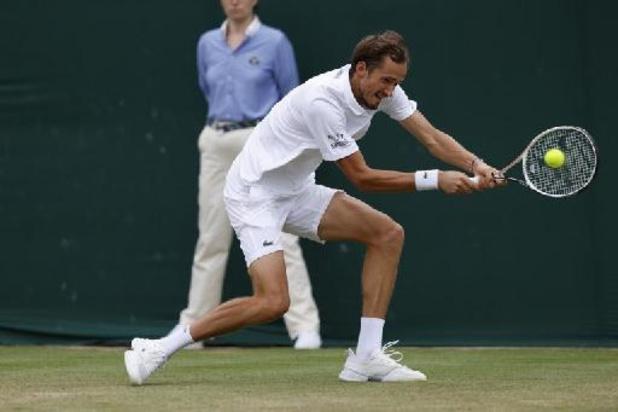Hurkacz élimine Medvedev, numéro deux mondial, en 8e de finale