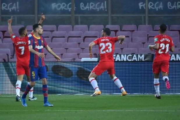 La Liga - FC Barcelona laat leidersplaats liggen na thuisnederlaag tegen Granada