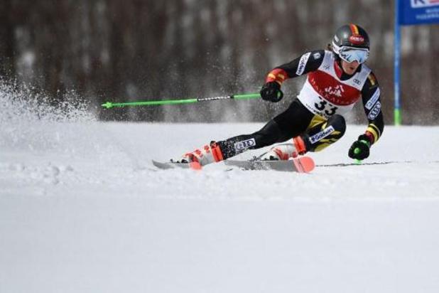 Sam Maes qualifié pour la deuxième course du slalom géant à Sölden