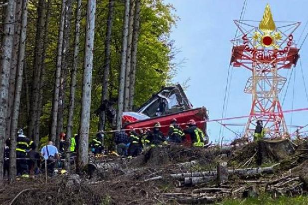 Treize morts et deux blessés graves dans la chute d'un téléphérique au bord du lac Majeur