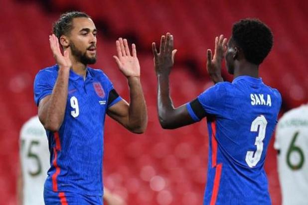 Vriendschappelijke voetbalinterlands - Engeland bereidt duel met Rode Duivels voor met makkelijke zege tegen Ierland