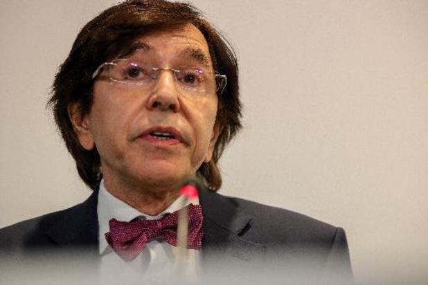 """""""Ce ne sont pas les experts qui prennent les décisions"""", rappelle Elio Di Rupo"""