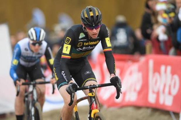 Laurens Sweeck champion de Belgique de cyclocross à la surprise générale