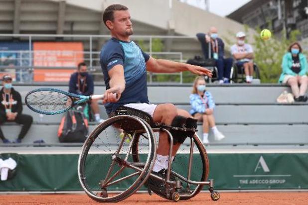 Joachim Gérard éliminé en quarts de finale de Roland-Garros