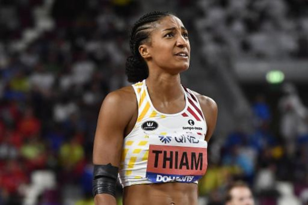 WK atletiek - Nafi Thiam is haar wereldtitel kwijt aan Katerina Johnson-Thompson