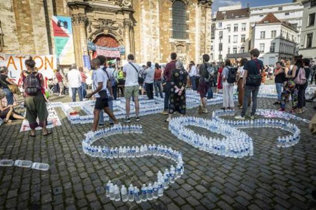 Hongerstakers schorten honger- en dorststaking op