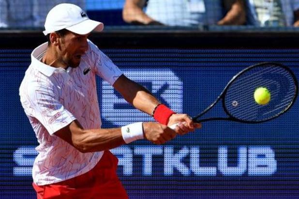 ATP Cincinnati - Novak Djokovic erg vlot naar halve finale tegen Bautista Agut