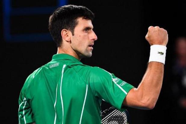 Djokovic renverse Dominic Thiem et s'offre un 8e sacre à Melbourne, son 17e Grand Chelem