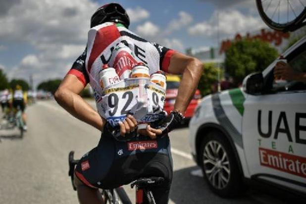 UCI verzacht sancties voor weggooien bidons
