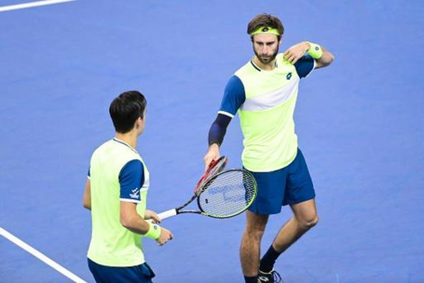 Sander Gillé et Joran Vliegen remportent le tournoi en double de l'Open d'Astana