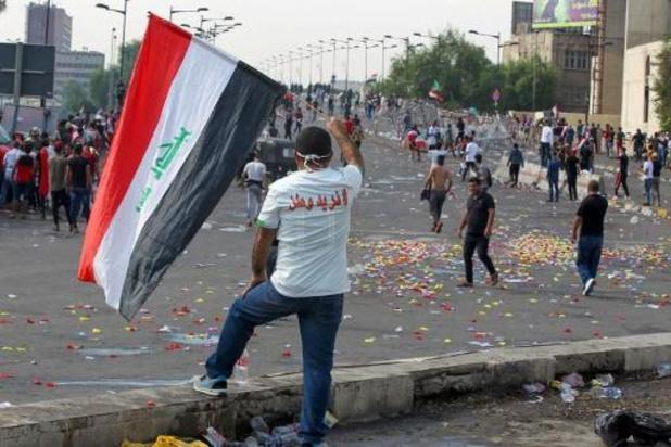 Twee doden bij nieuwe betogingen in Bagdad