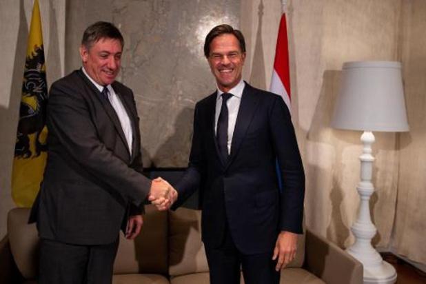 Niet toevallig is bezoek aan Rutte eerste buitenlandse trip van minister-president Jambon