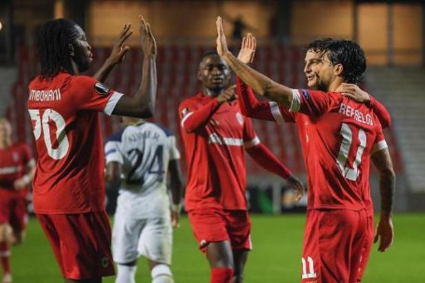 L'Antwerp réalise l'exploit face à Tottenham (1-0) et prend seul la tête du groupe J
