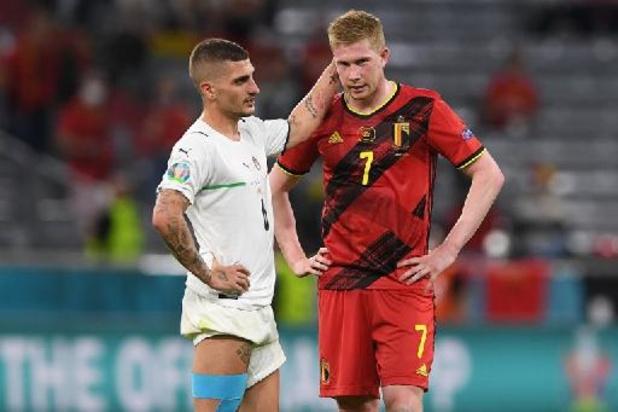 EK 2020 - Rode Duivels botsen in kwartfinales op Italië
