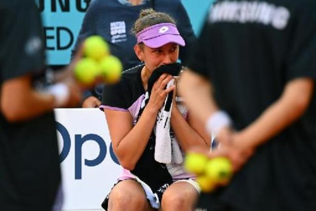 """WTA Madrid - Mertens: """"J'essayais de courir après chaque balle, mais ce n'était pas mon jour"""""""