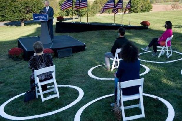Amerikaanse presidentsverkiezingen - Biden hekelt in campagnetoespraak verdeeldheid