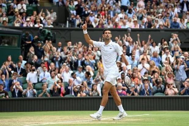 Wimbledon - Novak Djokovic s'offre Wimbledon et égale Federer et Nadal avec 20 titres en Grand Chelem