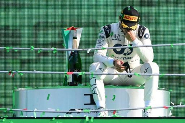"""F1 - Pierre Gasly après un premier succès inattendu: """"Honnêtement, c'est incroyable"""""""