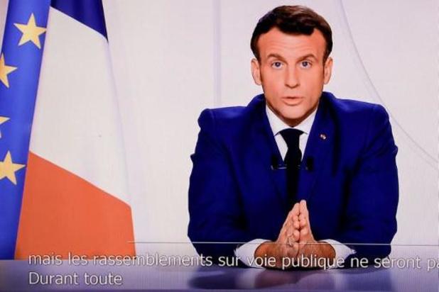 Macron prévoit une levée du confinement le 15 décembre, remplacé par un couvre-feu