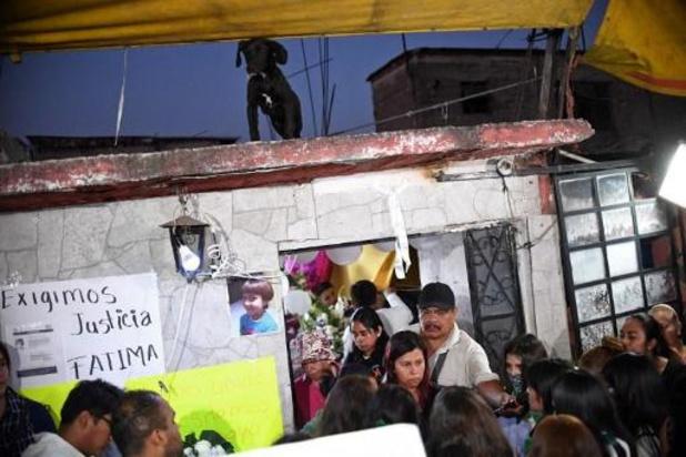Verontwaardiging in Mexico na moord op 7-jarig meisje