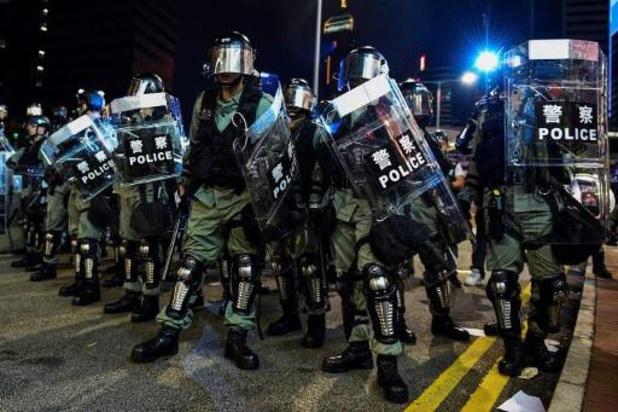"""Rellen op vijfde verjaardag """"paraplubeweging"""" in Hongkong"""