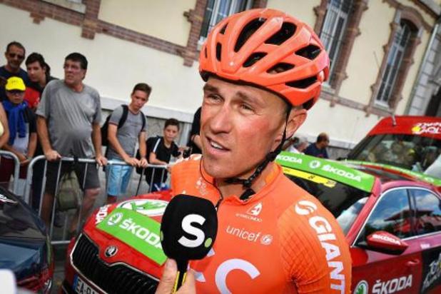 Serge Pauwels (36) hangt fiets aan de haak