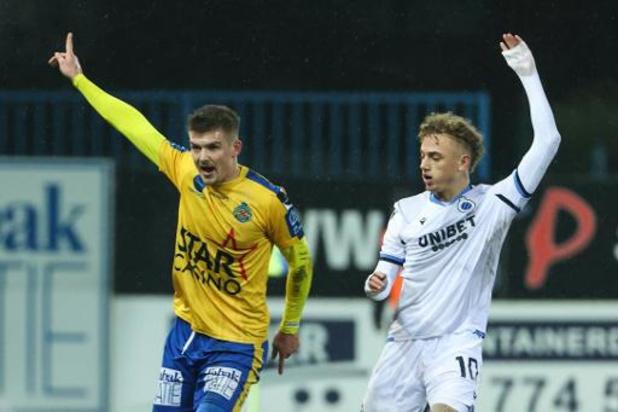 Jupiler Pro League - Le Club de Bruges l'emporte en leader face à la lanterne rouge, Waasland-Beveren