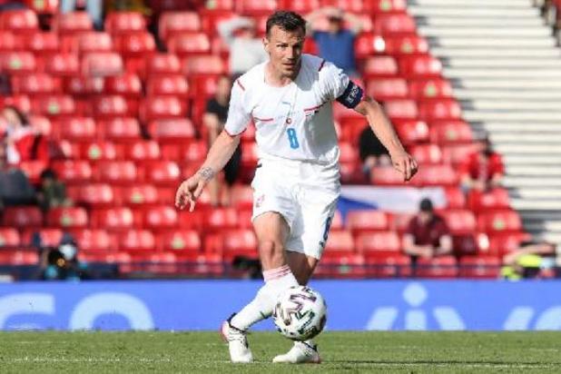 Tsjechische kapitein Darida stopt bij nationale ploeg