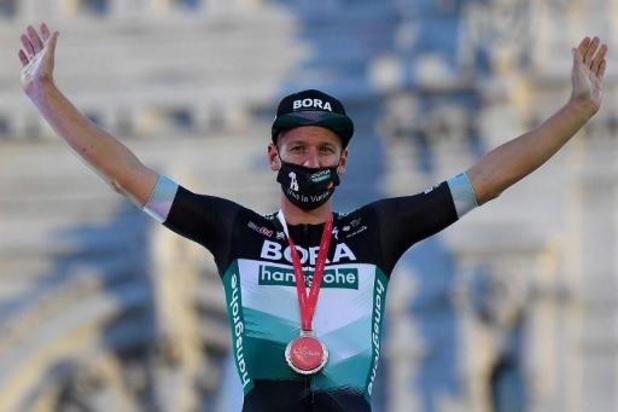 Tour d'Espagne - Pascal Ackermann n'était pas sûr d'avoir gagné la dernière étape