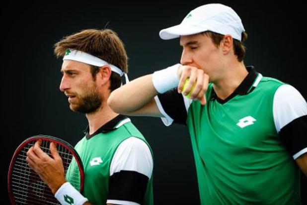 ATP Rotterdam - Sander Gillé et Joran Vliegen battus d'entrée en double
