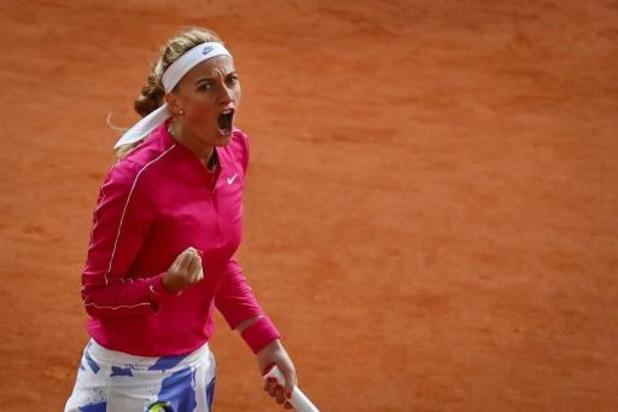 Petra Kvitova bereikt kwartfinales