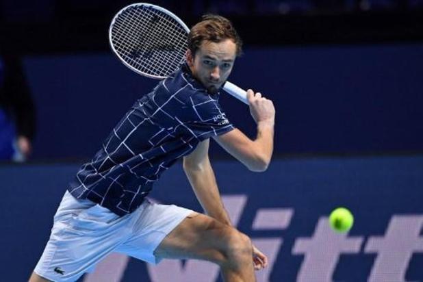 ATP Finals - Daniil Medvedev bat aussi Schwartzman et reste invaincu avant les demi-finales
