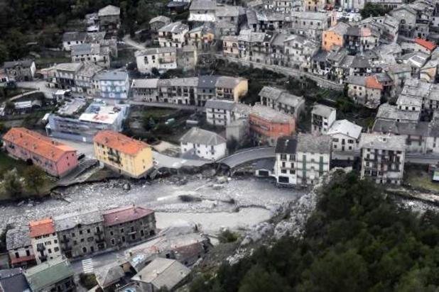 Meer dan 50 gemeenten in Frankrijk werden getroffen door storm Alex